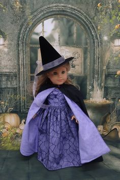 Bewitched witch costume for American Girl doll by cupcakecutiepie, $68.00