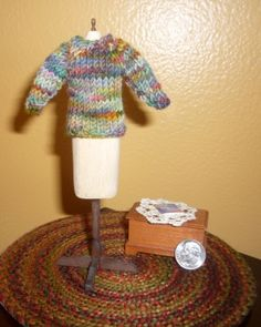 Miniature Knit Sweater