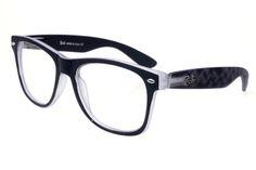 Ray Ban RBDX300 Sunglasses Black/Pattern Frame Transparent Lens