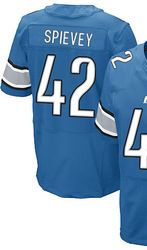 "$78.00--Amari Spievey Jersey - Elite Blue Home Nike Stitched Detroit Lions #42 Jersey,Free Shipping! Buy it now:click on the picture, than click on ""visit aliexpress.com"" In the new page."