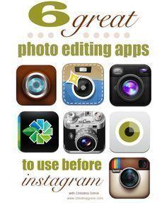 photo editing apps #mobilemarketingeditphotos