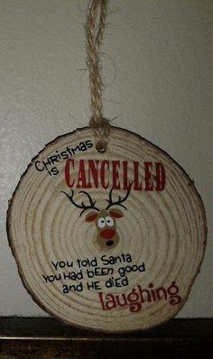 Wood Ideas Gift Christmas Ornament 63 Ideas For 2019 Christmas Ornaments To Make, Homemade Christmas, Diy Christmas Gifts, Rustic Christmas, Christmas Projects, Christmas Art, Holiday Crafts, Christmas Holidays, Christmas Bulbs