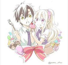 Sweet couple: SetoMary
