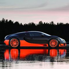 Veyron 16.4 Super Sport ... My favorite color scheme on Need for Speed :) I wan't a W-16 engine with 4 turbochargers. o_0