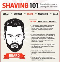 Shaving 101: A Guide to Shaving and Facial Hair