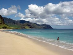 yokohama beach, oahu. the most beautiful beach.