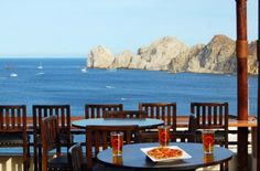 Stunning Land's End views are among the many delights on tap at Baja Brewing Company's rooftop location at Cabo Villas.