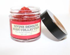 Red Velvet Sugar Lip Scrub