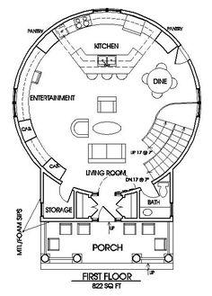the classic plan grain silo main floor