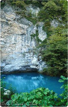 #Abkhazia #blue lake