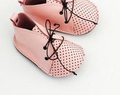 BETTY modern baby shoes in genuine soft leather and cotton