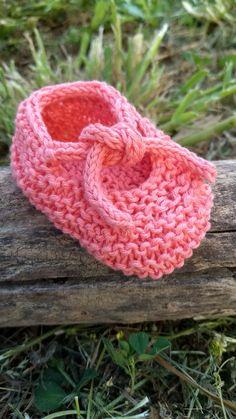 Scarpine neonato cotone 100% colore pesca.