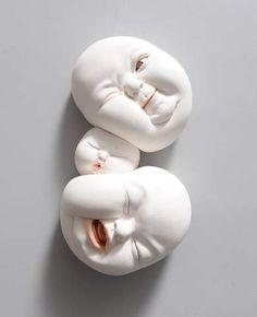 Johnson Tsang - Original Art For Sale – Beinart Gallery Surrealism Sculpture, Johnson Tsang, Model Tree, Circle Game, Antony Gormley, Fine Porcelain, Art For Sale, New Art, Sculpting