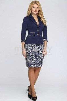 Dois Business Fashion, Office Fashion, African Wear, African Dress, African Fashion, Cute Dresses, Dresses For Work, Suits For Women, Clothes For Women
