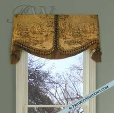 Board-Mounted Cornice Valance