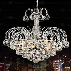 LightInTheBox European-Style Luxury 3 Light Chandelier With Crystal Balls, Ceiling Light Fixture with Bulb Included fit for Dining Room, Bedroom, Living Room LightInTheBox http://www.amazon.com/dp/B00NNCLI3A/ref=cm_sw_r_pi_dp_Snj5ub0RQRFK0