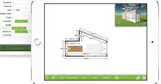 Met de handige iPad app van Livinlodge kunt u heel eenvoudig een houten bijgebouw tekenen en de prijs ervan berekenen. // Tool // Houtprofessional // Gebruiksvriendelijk // Poolhouse // Carport // Tuinberging // Veranda //  Aanbouw // Grondplan // Offerte // Visueel bezoek▪️Our handy iPad app makes it easy to design a wooden outbuilding and then calculate its cost.  // Woodworking professional // User-friendly app // Pool house // Carport // Garden Shed // Floor plan // Virtual Tour