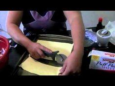 quesitos (cheese turnover) - YouTube