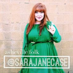 AshevilleFolk.com | Sarajane Case is a dreamer, a doer, a lover, a writer, a photographer, an Asheville local- and SO many other wonderful things! We couldn't be more excited to have a peek into her life and all of her favorite things about Asheville on the @AshevilleFolk instagram this week!