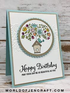 Stampin' Up! - Flying Home - World of JenCraft