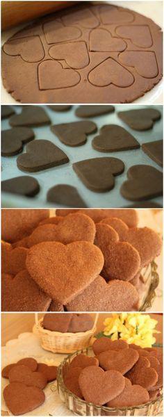 BISCOITINHOS DE CHOCOLATE DA VOVÓ... D-I-V-I-N-O-S! (veja a receita passo a passo) #biscotinhos #biscoitos #chocolate #biscoitosdechocolate #biscoitinhosdavovó