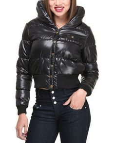 Love this Yvonne Bubble Coat by Basic Essentials on DrJays. Take a look and get 20% off your next order!