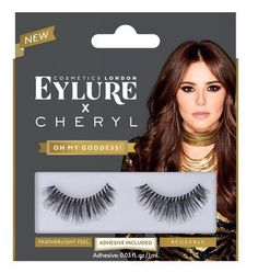 Womens Oh My Goddess Eyelashes, Black http://www.tinyfamily.co.uk/product/womens-oh-my-goddess-eyelashes-black/