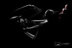 Krása Ženského Tela - Lambda (c) Matt Rybansky  bw color black and white art nude photography model luxury sport car | beauty of female body