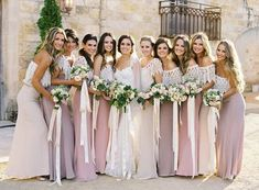 Deciding exactly what to have your bridesmaids wear can be a tough decision. Consider the four C's so your girlfriends can find #ThePerfectDress! #DTTSWedding