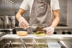 Parka Food Co. is a plant-based restaurant with a mission to make eating veggies fun. It's a casual, unlicensed spot doing up veggie versions of burgers. Parka, Plant Based, Toronto, Veggies, Turkey, Community, Restaurant, Eat, Food