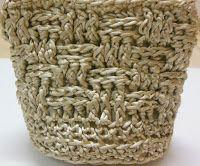 FREE CROCHET PATTERN by Sweet Nothings Crochet: WICKER BASKET BAG