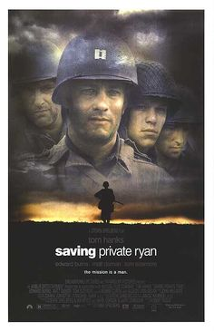 Saving Private Ryan will always be one of my favorite war films. The intensity of the opening scene depicting the Omaha Beach assault brings to light the realities that WWII soldiers dealt with. I praise Spielberg for the raw humanity that he was able to bring out from that scene alone.