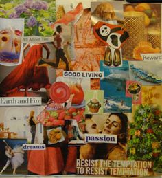 Get inspiration for creating a vision board of your own from the ones seen here, which were submitted by Experience Life readers. You'll also find step-by-step instructions for making your own vision board (and info on why you would want to in the first place). Enjoy!  (:) yea my board!)