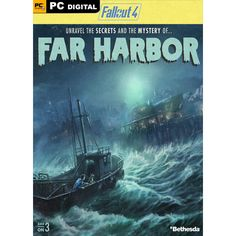 Fallout published Bethesda have announced that their upcoming DLC 'Far Harbor' will be bigger than Elder Scrolls Oblivion 's largest DLC. Fallout 4 Add Ons, Fallout 4 Concept Art, Fallout 4 Far Harbor, Neko, Ps4, The Mysterious Island, Fallout Game, Fallout Vault, Game Codes