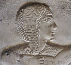 [Egypt 'Ramses II as a child at Abydos.'This relief detail shows the young Ramses II with a side lock. The youth side lock was worn by Egyptian children, particularly boys, until the age of about fourteen years. Ancient Egypt Art, Old Egypt, Ancient Aliens, Ancient Mexican Civilizations, Mystery Plays, Places In Egypt, Visit Egypt, Black History Facts, Egyptian Art