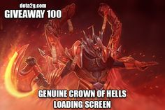 Giveaway 100 - Genuine Crown of Hells Loading Screen