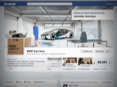 nice eample of a facebook action in recruiting. How BMW Karriere attached the new Facebook timeline - BMW Group  thnks employer branding daily