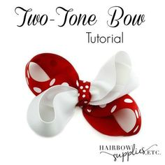 This video describes how to make a two tone hair bow! Great bow to match your favorite sports team! How To Make A Ribbon Bow, How To Make Hair, Hair Ribbons, Ribbon Bows, Ribbon Crafts, Ribbon Flower, Ribbon Art, Diy Ribbon, Making Hair Bows