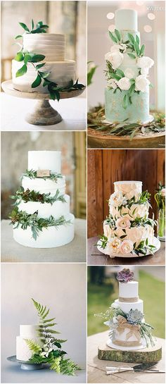 Country Wedding Cakes Ideas and Inspiration For Your Pantone Colour of the Year - Greenery Inspired Wedding - Ideas and Inspiration For Your Pantone Colour of the Year - Greenery Inspired Wedding Wedding Cakes With Cupcakes, Wedding Cake Decorations, Cool Wedding Cakes, Beautiful Wedding Cakes, Wedding Cake Designs, Wedding Cake Toppers, Perfect Wedding, Wedding Cake Prices, Country Wedding Cakes