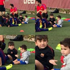 Mateo: Papa said you can't go unless you take me *Tiago looks at Leo*: Bruh, really? Shakira, Lionel Messi Family, Antonella Roccuzzo, Argentina National Team, Leonel Messi, Club World Cup, Messi 10, Super Sport, Fc Barcelona