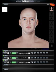 Virtual Lighting Studio Lets You Play With Lighting Setups On The Web | Popular Photography