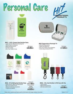 Personal Care Flyer