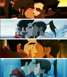 Makorra kisses