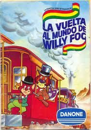 Álbum cromos Willy Fog Danone