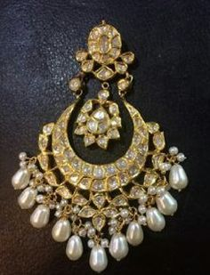 7 Whole Cool Ideas: Gold Jewelry Diamond silver jewelry boho. Indian Jewelry Earrings, Jewelry Design Earrings, Indian Wedding Jewelry, India Jewelry, Boho Jewelry, Bridal Jewelry, Antique Jewelry, Silver Jewelry, Vintage Jewelry