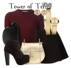 """Tower of Terror"" by tallybow ❤ liked on Polyvore featuring Neil Barrett, Movado, Marni, Abercrombie & Fitch, Chloé and Charlotte Russe"