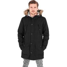 Sherpa Lined Cotton Parka  #fashion #streetwear #parka #jacke #jacken #style #black http://www.rudestylz.de/sherpa-cotton-parka.htm