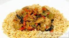 Asijská kuřecí čína s čínskými nudlemi Risotto, Rice, Make It Yourself, Cooking, Ethnic Recipes, Vietnam, Youtube, Kitchen, Cuisine