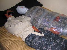 Bondagejock army wrapping 6 of 6 sub @maxatl