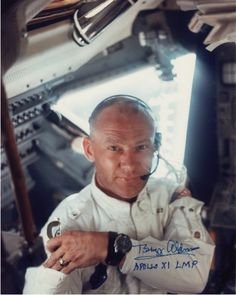 """thekhooll: """"Buzz This excellent photograph of Buzz Aldrin was taken by Neil Armstrong in 1969, aboard the Apollo 11 Lunar Module just before they landed on the surface of the moon. """""""